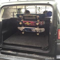 Blunt Steel Sk8board rack
